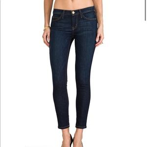 REVOLVE CURRENT/ELLIOTT Stiletto Jean Dark Wash